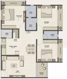 1692 sqft, 3 bhk Apartment in PSY Pramukh Paramount Sargaasan, Gandhinagar at Rs. 49.0000 Lacs