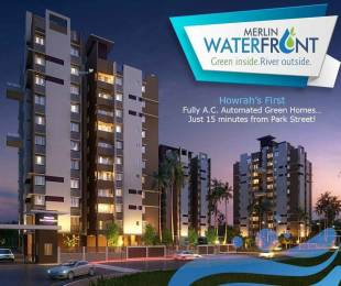 999 sqft, 3 bhk Apartment in Merlin Waterfront Howrah, Kolkata at Rs. 57.0000 Lacs