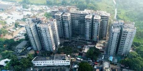 1056 sqft, 3 bhk Apartment in Merlin Waterfront Howrah, Kolkata at Rs. 62.7400 Lacs