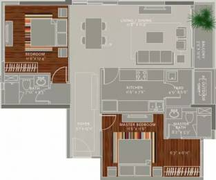 1325 sqft, 2 bhk Apartment in Ceebros The Atlantic Egmore, Chennai at Rs. 2.0000 Cr