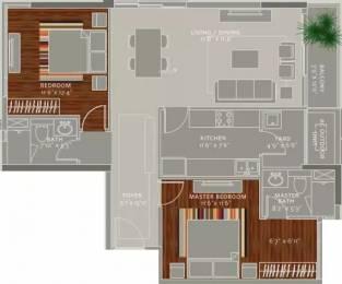 1325 sqft, 2 bhk Apartment in Ceebros The Atlantic Egmore, Chennai at Rs. 2.0000 Cr