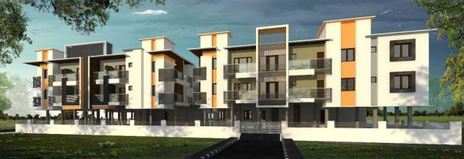 1101 sqft, 2 bhk Apartment in Builder Project Perumbakkam, Chennai at Rs. 62.8000 Lacs