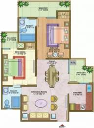 1125 sqft, 2 bhk Apartment in Nandini Metro Suites Sector 4 Vaishali, Ghaziabad at Rs. 76.0000 Lacs