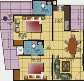 1060 sqft, 2 bhk Apartment in Gaursons Gaur Ganga Sector 4 Vaishali, Ghaziabad at Rs. 16000