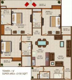 2150 sqft, 3 bhk Apartment in Sethi Venice Sector 150, Noida at Rs. 71.0000 Lacs