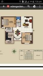 980 sqft, 2 bhk Apartment in Builder Eden Garden Mepedu East Tambaram, Chennai at Rs. 45.0000 Lacs