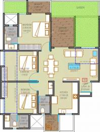 930 sqft, 3 bhk Apartment in Majestique Towers East Kharadi, Pune at Rs. 79.0000 Lacs