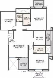 1536 sqft, 3 bhk Apartment in Pride Valencia Baner, Pune at Rs. 25000