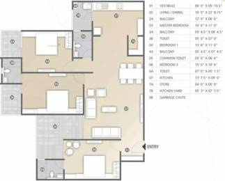 2411 sqft, 3 bhk Apartment in Shree Radha Jaldeep Vertex Ambli, Ahmedabad at Rs. 1.5671 Cr