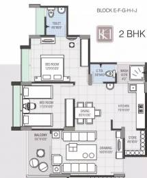 1215 sqft, 2 bhk Apartment in Navkar Kalasagar Heights Ranip, Ahmedabad at Rs. 45.0000 Lacs