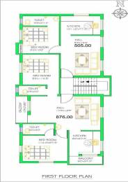 876 sqft, 2 bhk Apartment in Builder Project Vandalur, Chennai at Rs. 29.0000 Lacs