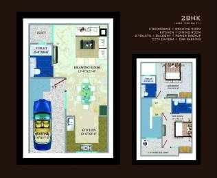 1350 sqft, 2 bhk Villa in Builder Project Noida Extension, Greater Noida at Rs. 35.0000 Lacs