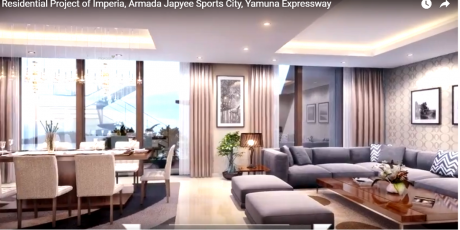 1450 sqft, 3 bhk Apartment in Imperia Mirage Homes Sector 25 Yamuna Express Way, Noida at Rs. 56.0000 Lacs