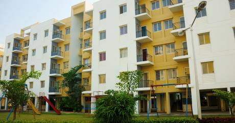 450 sqft, 1 bhk Apartment in Shapoorji Pallonji Group of Companies SP Shukhobristhi New Town, Kolkata at Rs. 14.5000 Lacs