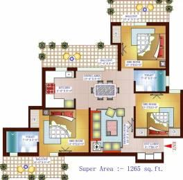 1265 sqft, 3 bhk Apartment in Vardhman Eta Residency ETA 1, Greater Noida at Rs. 48.0000 Lacs