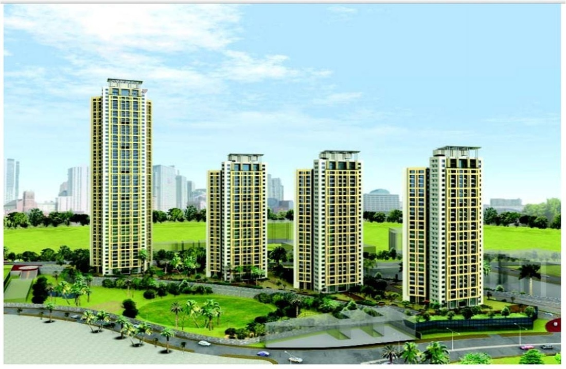 1125 sq ft 2BHK 2BHK+4T (1,125 sq ft) Property By Black and White Aventura In Ashok Towers, Parel