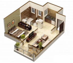1200 sqft, 2 bhk Apartment in Builder Project Senapati Bapat Road, Pune at Rs. 25000