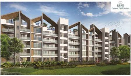 1475 sqft, 3 bhk Apartment in Rise Resort Residences Forest Floor Sector 1 Noida Extension, Greater Noida at Rs. 77.4375 Lacs