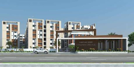 1272 sqft, 2 bhk Apartment in Fortune Green Golden Oriole Manikonda, Hyderabad at Rs. 50.8800 Lacs