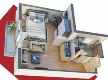 620 sqft, 1 bhk Apartment in DLF My Pad Gomti Nagar, Lucknow at Rs. 32.0000 Lacs