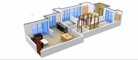 1385 sqft, 3 bhk Apartment in Prateek Wisteria Sector 77, Noida at Rs. 15000