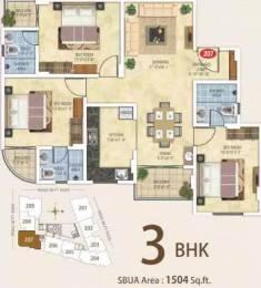 1504 sqft, 3 bhk Apartment in Kotecha Royal Essence Vaishali Nagar, Jaipur at Rs. 55.0000 Lacs