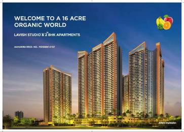 747 sqft, 2 bhk Apartment in Arihant Aspire Phase I Panvel, Mumbai at Rs. 65.0000 Lacs