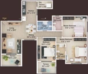 1565 sqft, 3 bhk Apartment in Manav Perfect 10 Balewadi, Pune at Rs. 1.0500 Cr