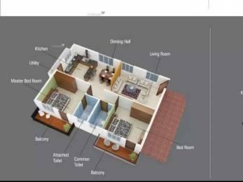 1095 sqft, 2 bhk Apartment in Balaji Oasis Horamavu, Bangalore at Rs. 54.0000 Lacs