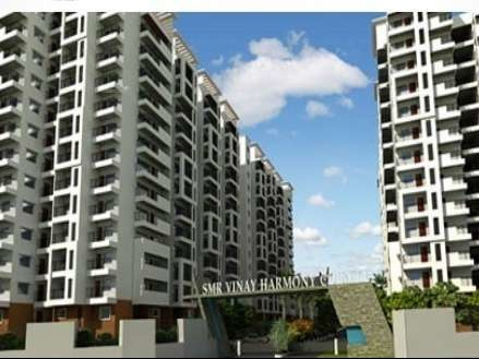 1255 sqft, 2 bhk Apartment in SMR Vinay Harmony County Bandlaguda Jagir, Hyderabad at Rs. 42.6700 Lacs