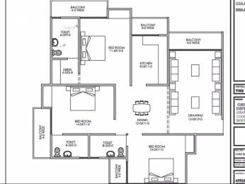 1800 sqft, 3 bhk Apartment in Builder Diamond Multi State Cghs Society Sector 24 Dwarka, Delhi at Rs. 62.7000 Lacs