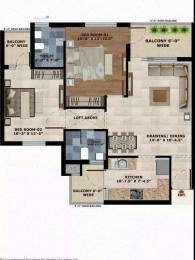 1365 sqft, 2 bhk Apartment in SBP Homes Sector 126 Mohali, Mohali at Rs. 36.9000 Lacs