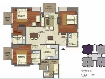 1805 sqft, 3 bhk Apartment in Builder Project Sohna Road Sector 47, Gurgaon at Rs. 35000