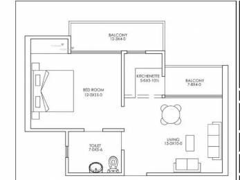 475 sqft, 1 bhk Apartment in Builder dwarka heights cooperative housing society ltd Dwarka New Delhi 110075, Delhi at Rs. 20.9000 Lacs