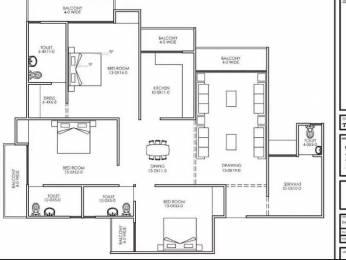1175 sqft, 3 bhk Apartment in Builder dwarka heights cooperative housing society ltd Dwarka New Delhi 110075, Delhi at Rs. 51.7000 Lacs