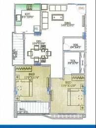 1100 sqft, 2 bhk Apartment in Builder Project Vijay Nagar, Indore at Rs. 35.5100 Lacs