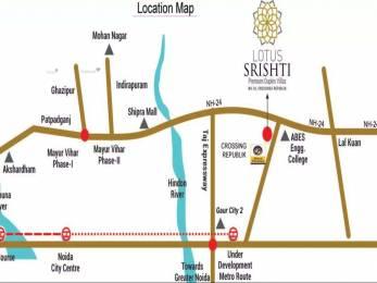 1850 sqft, 4 bhk Villa in Builder Lotus Srishti Crossing Republik, Ghaziabad at Rs. 78.0000 Lacs