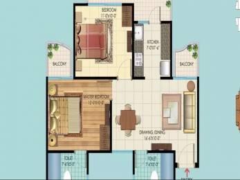 1050 sqft, 2 bhk Apartment in Rishabh Hindon Green Valley Kinauni Village, Ghaziabad at Rs. 55.0000 Lacs
