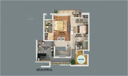 2177 sqft, 3 bhk Apartment in Builder gbp athens Zirakpur, Mohali at Rs. 73.9000 Lacs