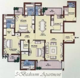 2450 sqft, 3 bhk Apartment in Vipul Belmonte Sector 53, Gurgaon at Rs. 63000