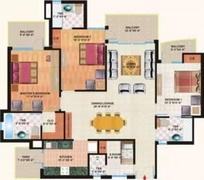 1960 sqft, 3 bhk Apartment in Mapsko Casa Bella Sector 82, Gurgaon at Rs. 85.0000 Lacs