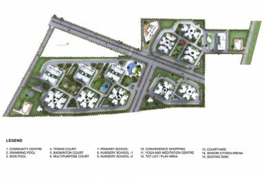 2324 sqft, 4 bhk Apartment in Godrej Summit Sector 104, Gurgaon at Rs. 28000