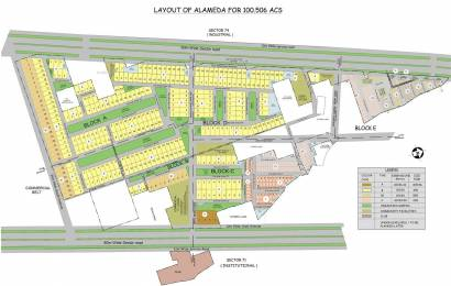6300 sqft, Plot in DLF Alameda Sector 73, Gurgaon at Rs. 4.2000 Cr