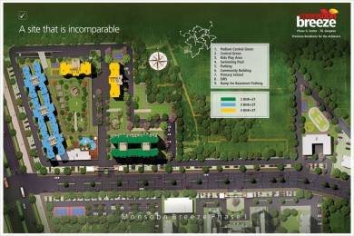 1850 sqft, 3 bhk Apartment in Umang Monsoon Breeze Sector 78, Gurgaon at Rs. 75.0000 Lacs