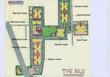 2557 sqft, 3 bhk Apartment in Omaxe The Nile Sector 49, Gurgaon at Rs. 1.7500 Cr