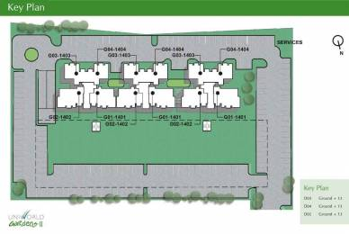 973 sqft, 2 bhk Apartment in Unitech Uniworld Garden 2 Sector 47, Gurgaon at Rs. 25000
