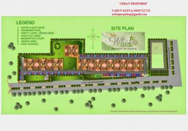 1326 sqft, 3 bhk Apartment in Tulip White Sector 69, Gurgaon at Rs. 72.0000 Lacs