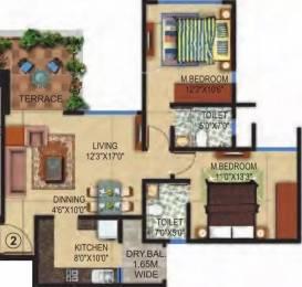 1031 sqft, 2 bhk Apartment in Amit Colori Undri, Pune at Rs. 10000