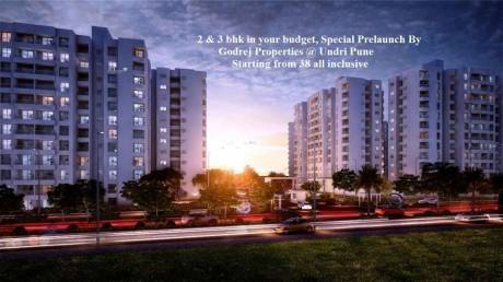 1400 sqft, 3 bhk Apartment in Godrej Prana Undri, Pune at Rs. 65.0000 Lacs