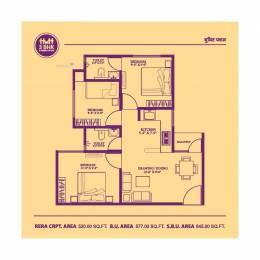 645 sqft, 3 bhk Apartment in Builder Aravali Homes 2 Chachiyawas, Ajmer at Rs. 12.5000 Lacs